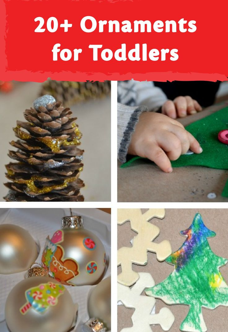 classic ornaments toddlers can make preschool christmas