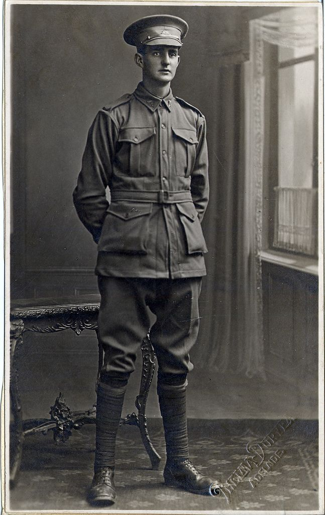https://flic.kr/p/gKCqeX | Number 2415 BAWDEN, Ralph Mervin | GRG26/5/4 Photographic Portraits of South Australian Soldiers, Sailors and Nurses who took part in World War One Number 2415 BAWDEN, Ralph Mervin 50th Battalion Place of birth: Salisbury Residence: Aldgate Died of wounds SRSA ref: GRG26/5/4/2415