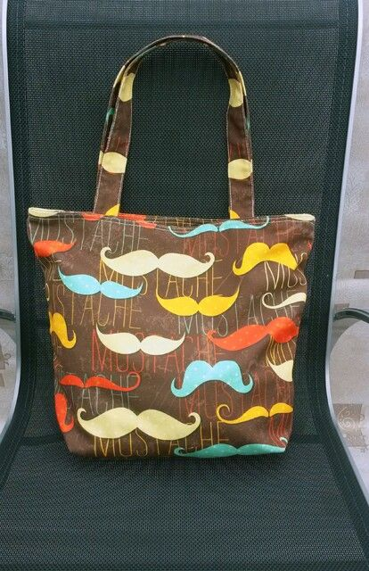 Mustache canvas totebag. Rp 175,000. Sms to 081410035250 for order. Your order will be sent within 5 days after payment.