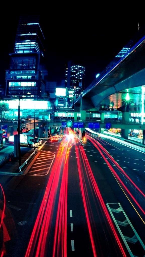 Tokyo Wallpaper 4k Iphone Gallery Di 2020 Pemandangan Khayalan Pemandangan Kota