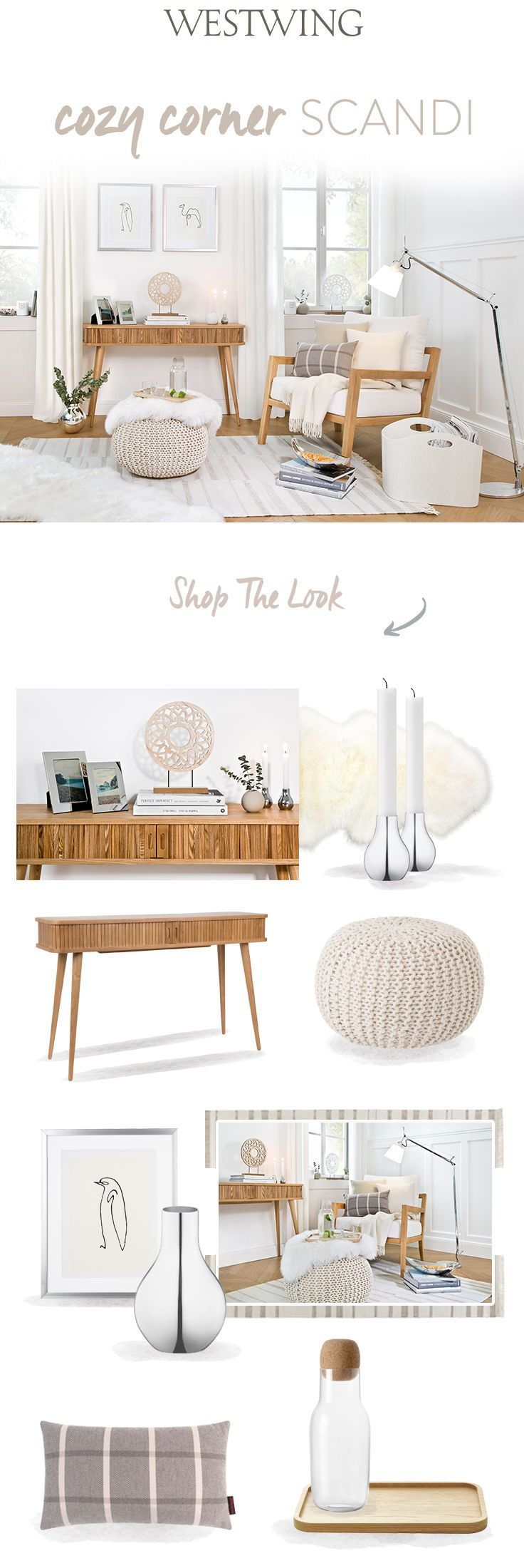 So funktioniert der Look »Cozy Corner Skandi«: Ein Hoch ...