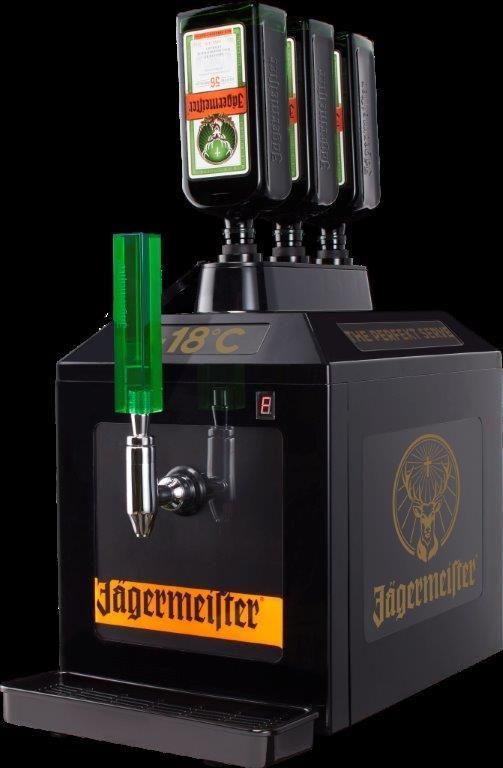 Jägermeister 3 Bottle Tap Machine