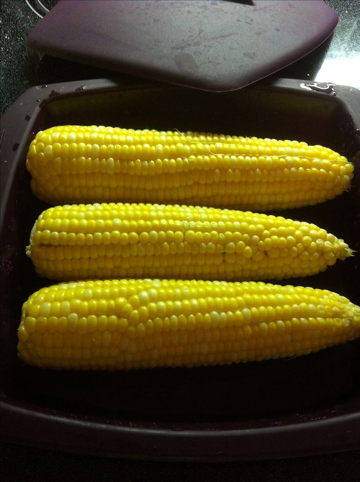 Corn on the cob can be done in your Epicure steamer in 5 mins in the microwave. Keep in mind microwave ovens vary in temperature so times may be longer