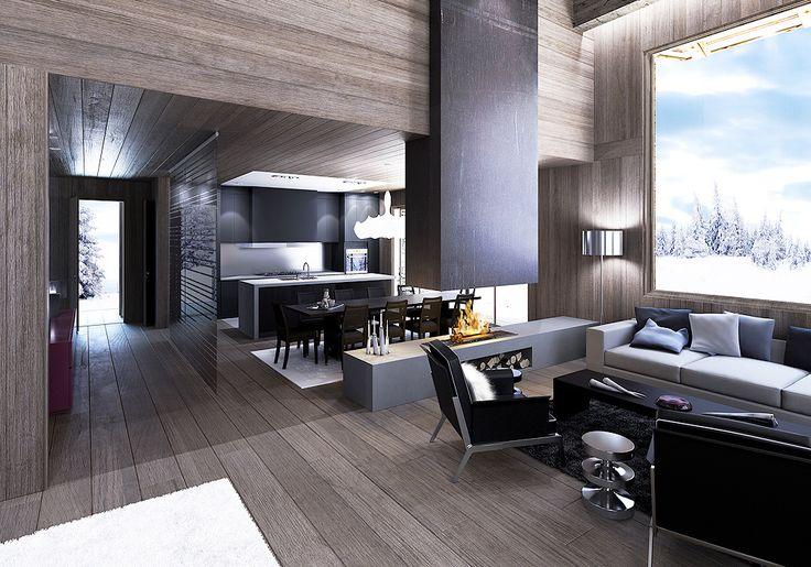 The most beautiful living rooms in paris studios for Most beautiful interior designs