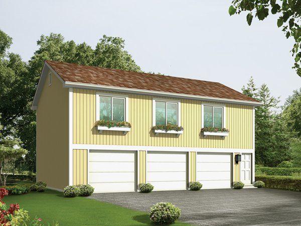 138 best images about apartment garages on pinterest for Unique garage apartment plans