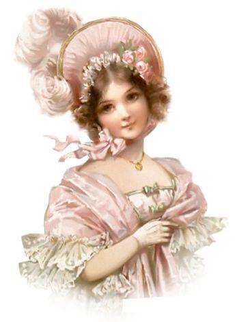 Pretty Pretty Victorian Lady ~
