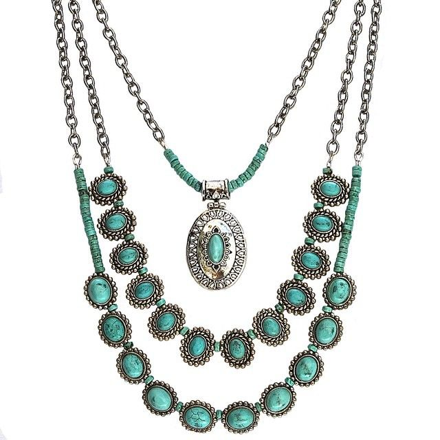 It's #diysaturday!  @deniseyezbakmoore gives you the instructions to this great piece on our blog today.  It's a don't miss!  www.halcraft.com/blog #beadgallery #festivaljewelry #festival #bohochic #westernjewelry #bohojewelry #diyjewelry #turquoisejewelry #summerstyle #summer2015 #accessories #layerednecklaces #pendant