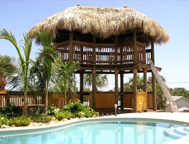 13 best Tiki Huts images on Pinterest Car At home and Bench swing