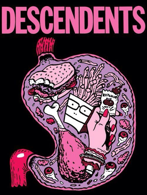 Descendents. Band perfect. Hardcore punk.