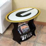 Green Bay Packers G Logo End Table at the Packers Pro Shop