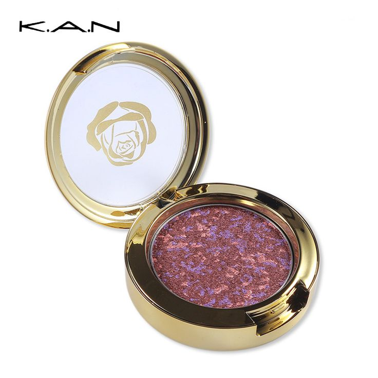 Aliexpress.com : Buy KAN 4 Colors Gold Baked Glitter Eyeshadow Palette Naked…