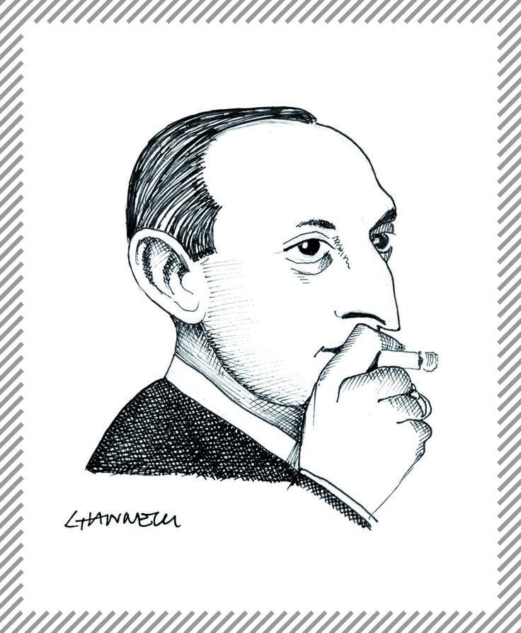 Leo Longanesi, 1905-1957, editore, giornalista, pittore e caricaturista. Nel 1946, insieme con l'industriale Giovanni Monti, fondò la casa editrice che porta il suo nome e alcuni periodici di attualità politico letteraria come L'italiano, Omnibus e Il borghese. #AlbumMilano