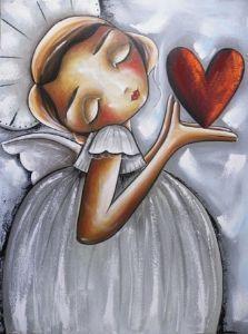 """Holding your heart"" -- Chanelle Kotze"