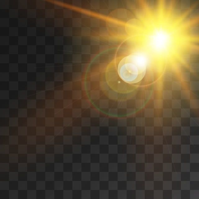 تأثير ضوء الشمس الإبداعي مع أشعة الشمس وتكوين خوخه التوضيح النواقل أضواء كاشفة ضوء شمس Png والمتجهات للتحميل مجانا Ilustrasi Vektor Lingkaran Cahaya Bokeh