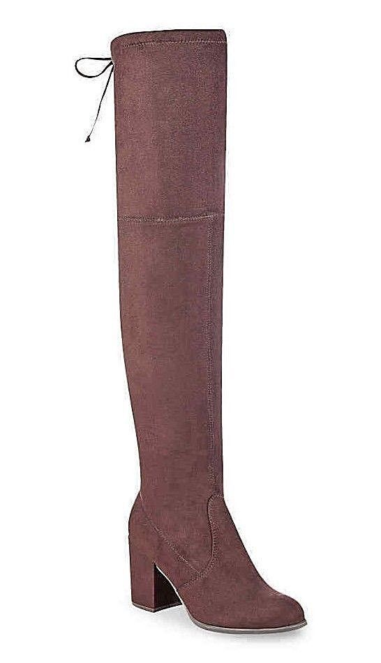 2496fb247da NEW - UNISA  DEDRII  Women s Dark Brown OVER THE KNEE BOOTS SIZE US 9.5 M   fashion  clothing  shoes  accessories  womensshoes  boots (ebay link)