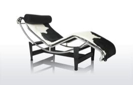 Design Stoel koehuid 'Loung Chair Pony' Fidelity LC4