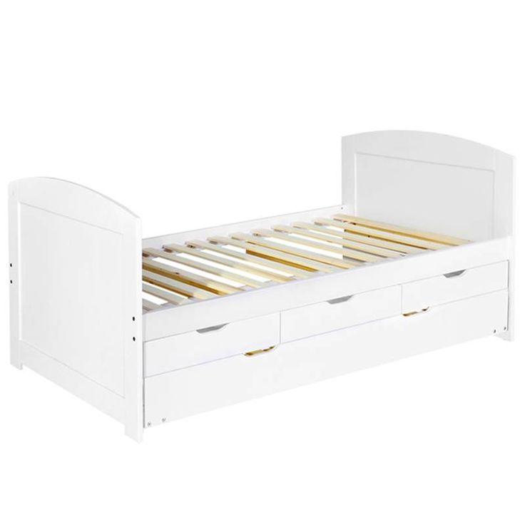 25 best ideas about single wooden beds on pinterest white wooden single bed wooden platform. Black Bedroom Furniture Sets. Home Design Ideas