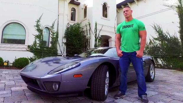 John Cena sued by Ford for selling rare GT less than a month after buying it