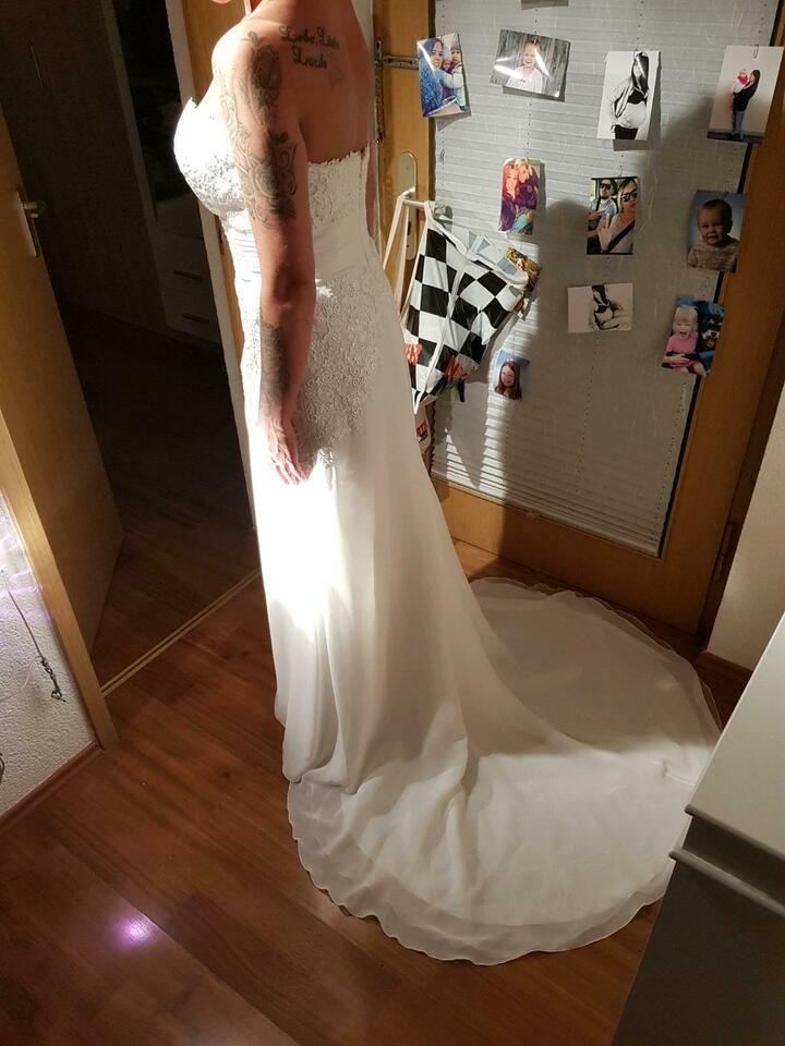 hochzeitskleid brautkleid pronovias ivory 36 38 in baden