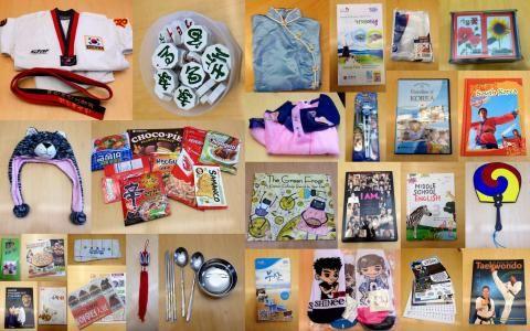 South Korea Culture Kit #carolinanavigators