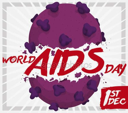 HIV Virus Broken for World AIDS Day