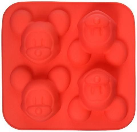 Hos Sjovogkreativ.dk kan du nu købe disse flotte og sjove Mickey Mouse silikoneforme med 4 ansigter med Mickey Mouse.