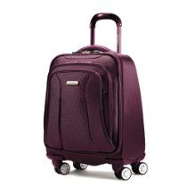 Samsonite offer Samsonite Luggage Hyperspace XLT Spinner Boarding Bag, Passion Purple, One Size. This awesome product currently limited units, you can buy it now for $320.00 $138.69, You save $181.31 New