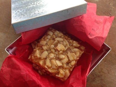 How to make Peanut Chikki (Peanut Brittle) - Makar Sakranti special Indi...