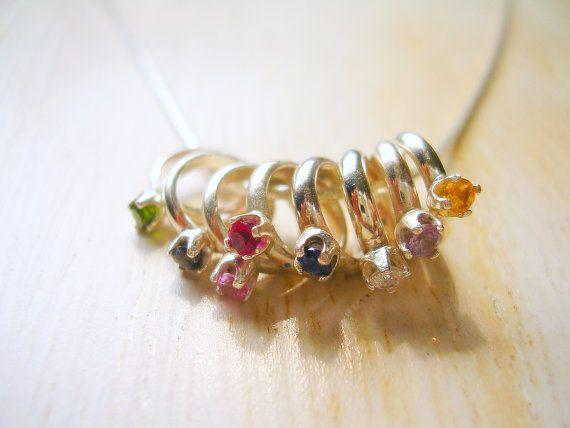Baby Rings, Birthstones Baby