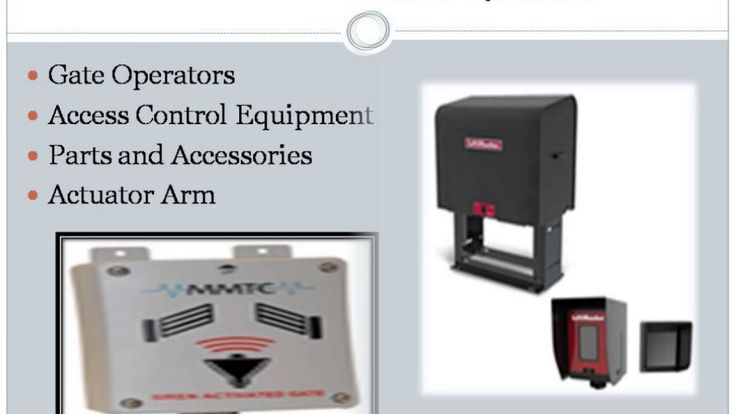 Shop for Slide Gate Operators / Slide Gate Openers / Slide Gate Motors. Browse the popular Liftmaster / Chamberlain and Elite brands at discounted prices. Products sold as kits or individually