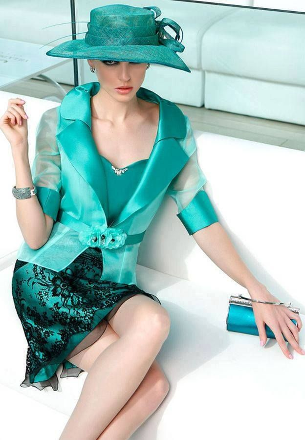 Turquoise   Teal   outfit, fashion
