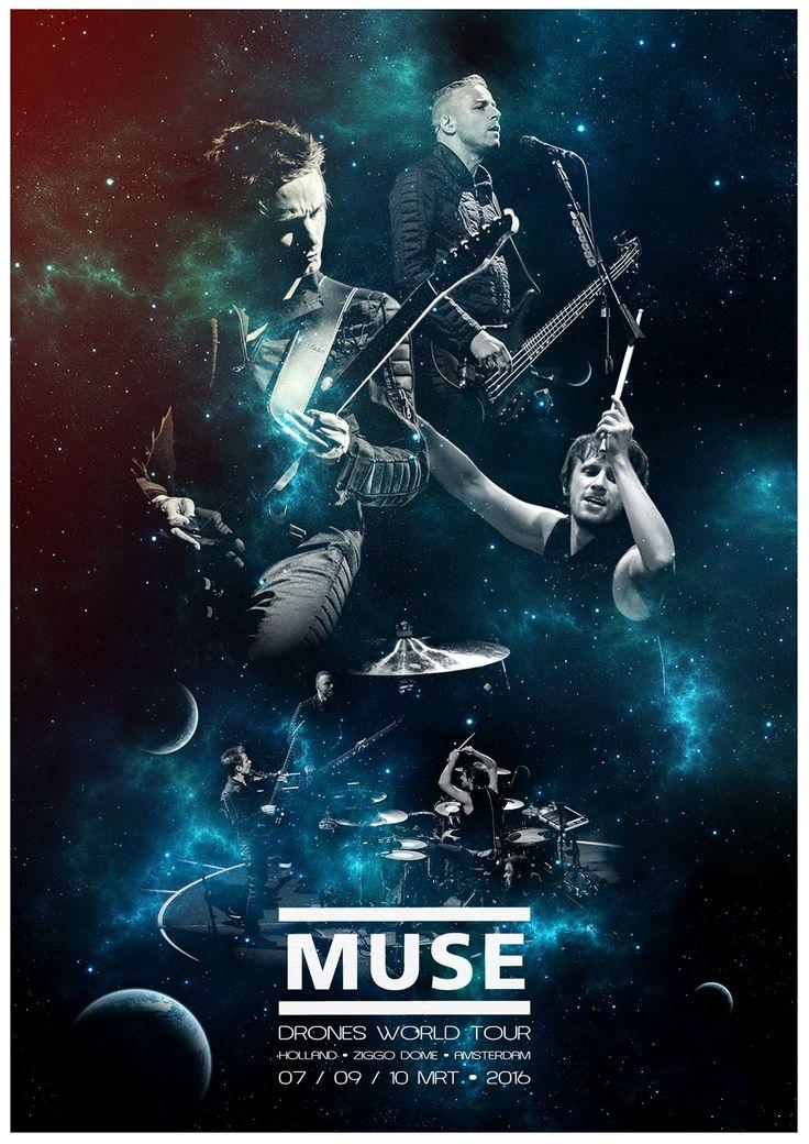 MUSE - DRONES WORLD TOUR - AMSTERDAM - ZIGGODOME 07/09/10 MRT. 2016