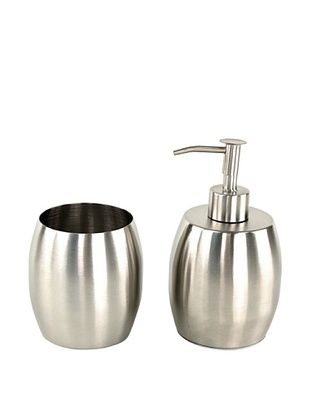 53% OFF Nameek's 2-Piece Nigella Bath Set, Stainless
