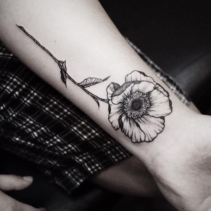 110 gorgeous flower tattoos to brighten your day 2019