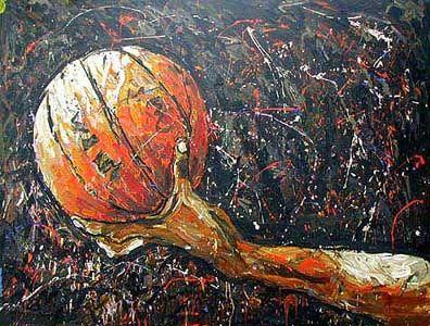 ¿Quién dice que el basketball no es arte?