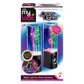 Bring some colorful style to your next party with the Cra-Z-Art Crazy Lights Magic Dancing Water Speakers. Bright LEDs shimmer in time to the music as fountains of colored water undulate to the beat. There's even a sheet of stickers you can use to decorate these USB speakers for more fun.