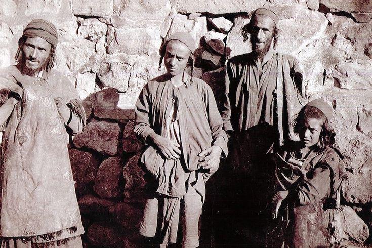 Yemenite Jews, early 20th Century.