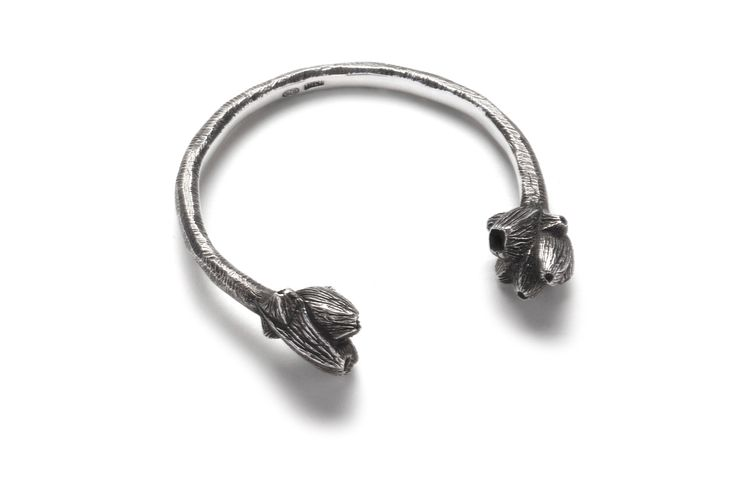 Emgee sterling silver barnacle cuff