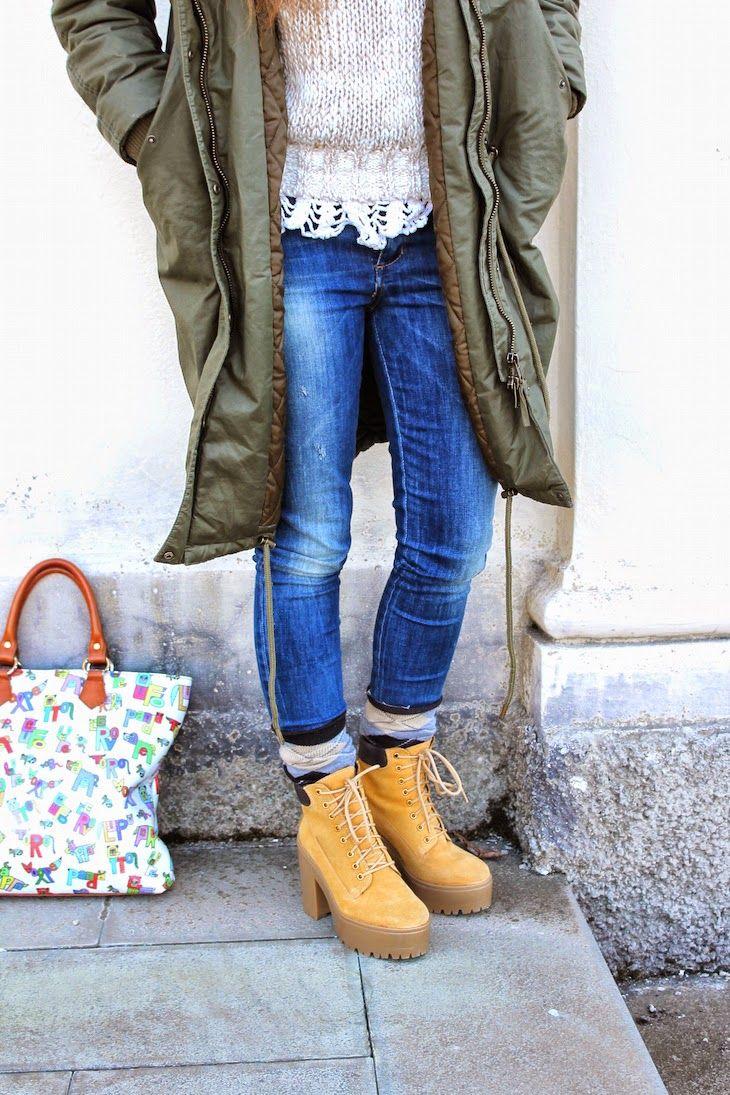 #jeans #parka #ootd #fashion #streetstyle #cool #denim #madeinitaly #fashionblog #style  @altoitaliano