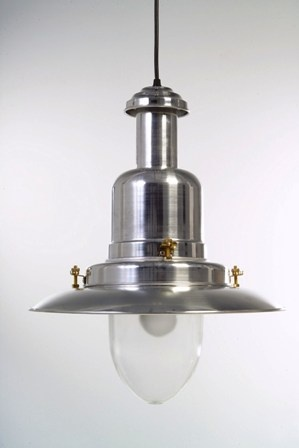 Hh fisherman large pendant ceiling light aluminium made in great britain