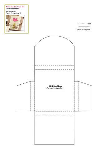 350 Cards & Gifts Patterns -- Tons of free Templates! -- Papercrafts.com