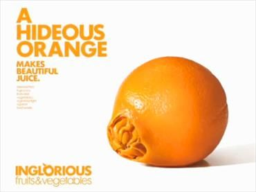 Frank words can work wonders, as demonstrated by French supermarket Intermarche's Inglorious Fruit and Vegetables campaign, created by French ad agency Marcel. The initiative encouraged customers to purchase discount, imperfect fruit and vegetables that would otherwise be discarded. The usually disregarded produce was put front and centre in-store with its own labelling, display and receipt space.