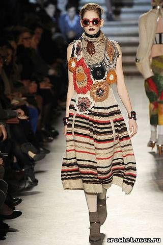 Outstanding Crochet: Missoni. Fall 2010. Crochet