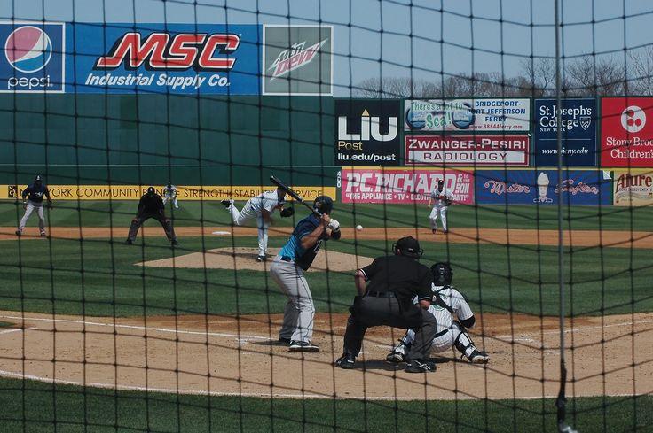 The Long Island Ducks vs The Bridgeport Bluefish 4/18/15 exhibition game