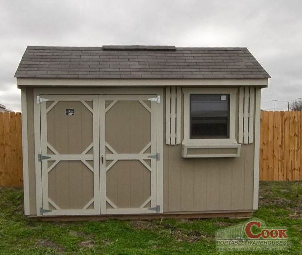 a beautiful garden shed by cook portable warehouses design your very own dream shed on