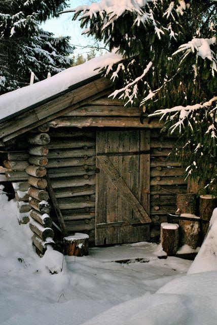 Love log cabin anything!