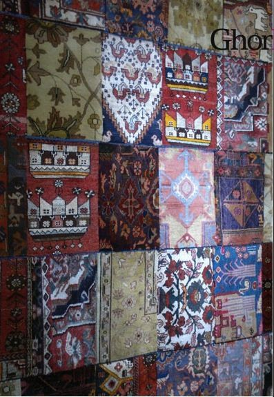Overdyed Persian by Ghorbany Carpets