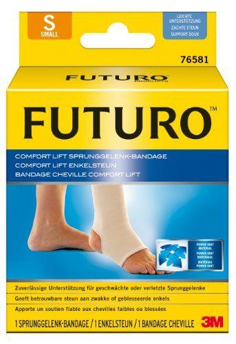 FUTURO FUT76581 Comfort Sprunggelenk-Bandage, beidseitig tragbar, Gr��e S, 25,4 - 31,8 cm