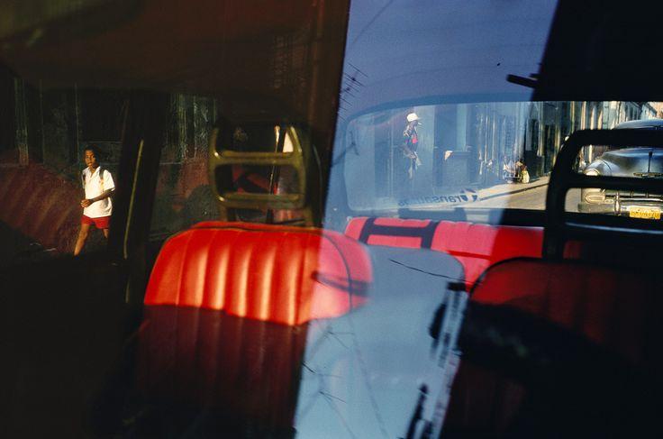 Alex Webb. Havana 2000 http://www.1stdibs.com/art/photography/alex-webb-havana-2000-red-car-seats/id-a_29612/