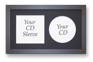 CD and sleeve Frame With Mount